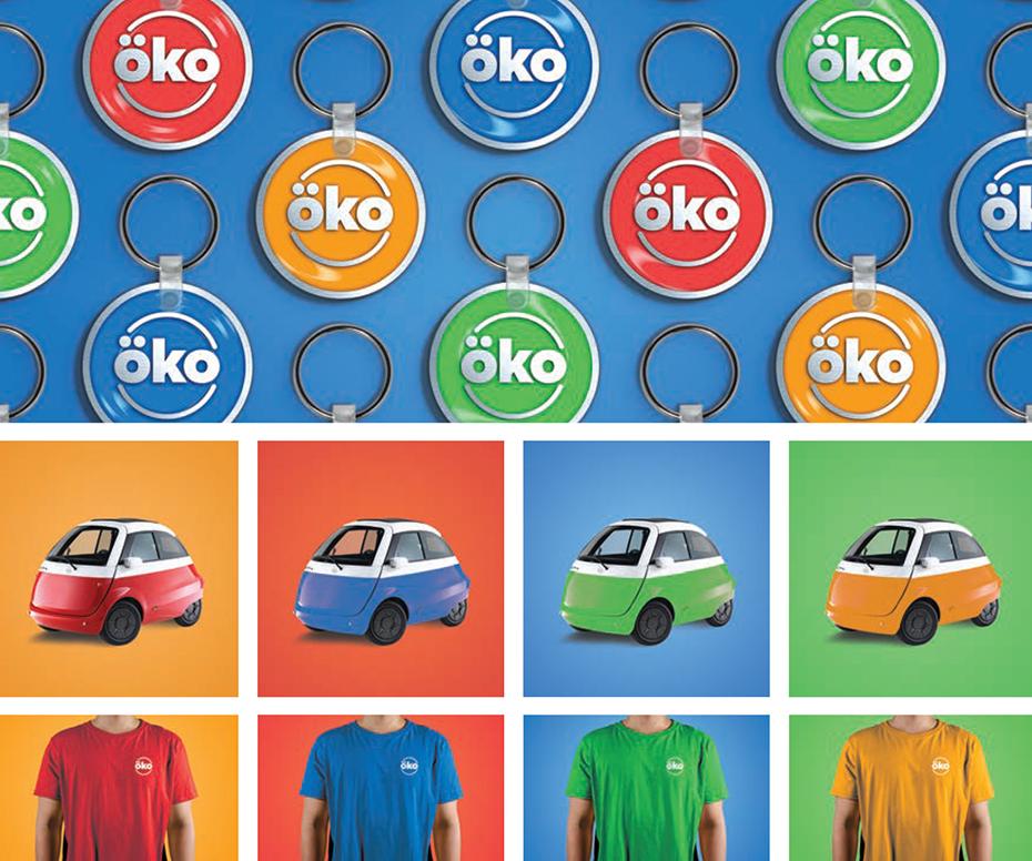 Brand Identity, Tanner Garniss, Branding, Brand Identity, OKO Car Sharing